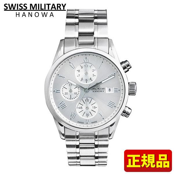 SWISS MILITARY スイスミリタリー ROMAN ローマン メンズ 腕時計時計ML347 ML-347 シルバー 国内正規品 誕生日 男性 ギフト プレゼント