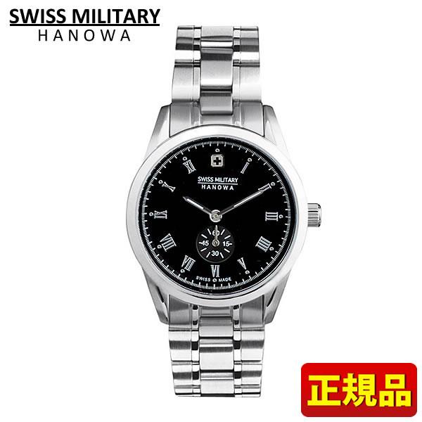 【先着!250円OFFクーポン】SWISS MILITARY スイスミリタリー ROMAN ローマン レディース 腕時計時計 ML349 ML-349 黒 ブラック 国内正規品 誕生日プレゼント 女性 ギフト