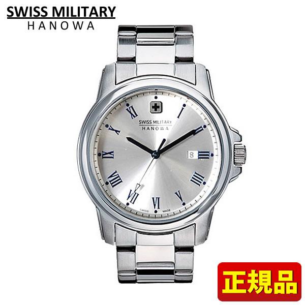 【送料無料】SWISS MILITARY ROMAN Hanowa スイスミリタリー ローマン メンズ 腕時計時計ML377 ML-377 国内正規品 シルバー 誕生日プレゼント 男性 ギフト