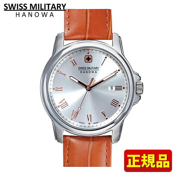 【送料無料】SWISS MILITARY ROMAN Hanowa スイスミリタリー ローマン メンズ 腕時計時計ML381 ML-381 レザー 国内正規品 誕生日プレゼント 男性 ギフト