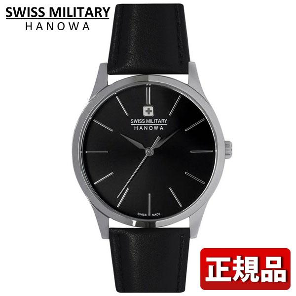 SWISS MILITARY スイスミリタリー PRIMO プリモ ML-411 メンズ 腕時計 ウォッチ 黒 ブラック 銀 シルバー 時計