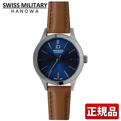 SWISS MILITARY スイスミリタリー PRIMO プリモ ML-421 ML421 レディース 腕時計 ウォッチ 青 茶 ブルー ブラウン 国内正規品 誕生日プレゼント 女性 ギフト