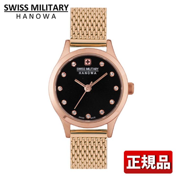 SWISS MILITARY PRIMO プリモ スイスミリタリー レディース 腕時計 ML437 ML-437 国内正規品 ブラック ゴールド 誕生日 女性 ギフト プレゼント