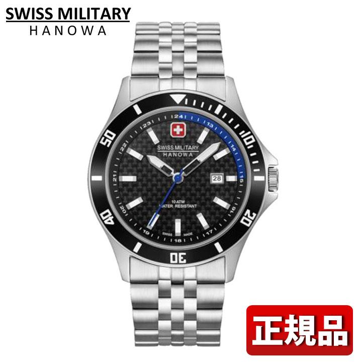 SWISS MILITARY スイスミリタリー FLAGSHIP RACER フラッグシップレイサー ML-469 ML469 国内正規品 ブラック シルバー メンズ 腕時計 ウォッチ カジュアル 誕生日 男性 ギフト プレゼント