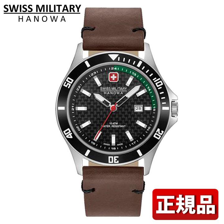 SWISS MILITARY スイスミリタリー FLAGSHIP RACER フラッグシップレイサー ML-470 ML470 国内正規品 レザー ブラック ブラウン メンズ 腕時計 ウォッチ カジュアル 誕生日 男性 ギフト プレゼント