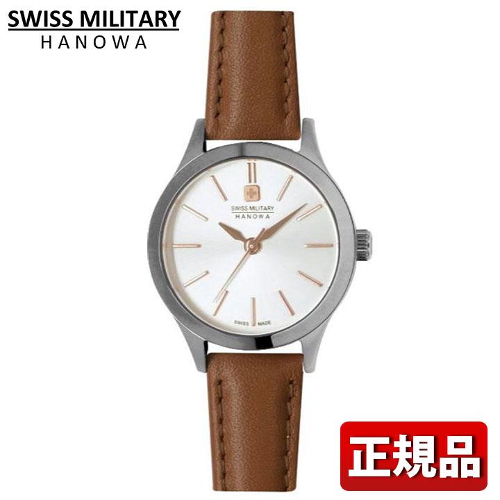 SWISS MILITARY スイスミリタリー PRIMO プリモ ML-472 ML472 ブラウン ホワイト レディース 腕時計 ウォッチ カジュアル 誕生日プレゼント 女性 ギフト 国内正規品