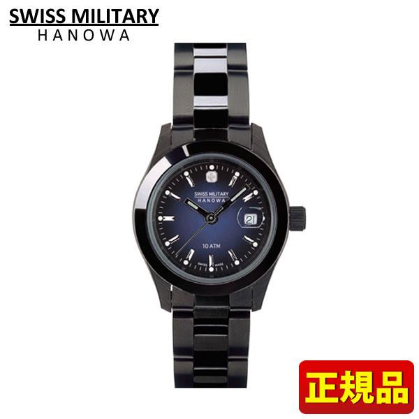 【クーポンで2000円OFF!9日20時~】【送料無料】SWISS MILITARY ELEGANT BLACK スイスミリタリー 腕時計時計 エレガントブラック ML-243 ML243 レディース 国内正規品 誕生日 誕生日プレゼント 女性 ギフト