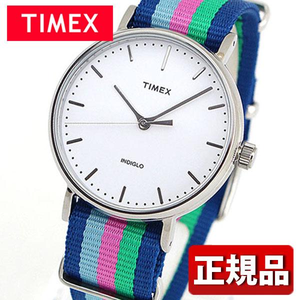 メーカー1年保証 TIMEX タイメックス Weekender Fairfield ウィークエンダーフェアフィールド TIMEX-TW2P91700 国内正規品 メンズ レディース 腕時計 男女兼用 ユニセックス ナイロン バンド クオーツ アナログ 青 ブルー 緑 グリーン ピンク ギフト