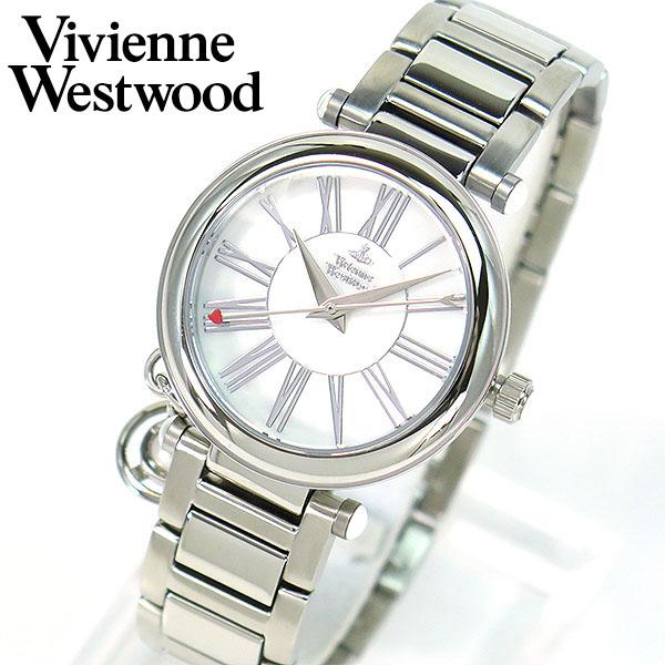 【送料無料】Vivienne Westwood ヴィヴィアン・ウエストウッド Orb オーブ VV006PSLSL 海外モデル レディース 腕時計 ウォッチ ビビアンウエストウッド 誕生日プレゼント 女性 卒業祝い 入学祝い ギフト