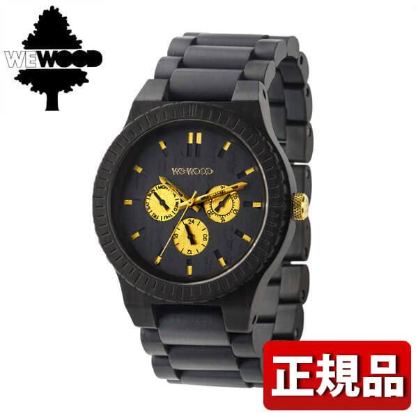 【送料無料】WEWOOD ウィーウッド KAPPA BLACK RO 木製 9818054 メンズ 腕時計 ウォッチ 黒 ブラック 誕生日プレゼント 男性 ギフト