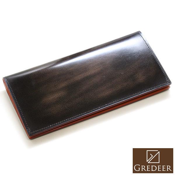 【バンビ】GREDEER グレディア 長財布 ブラウン 日本製