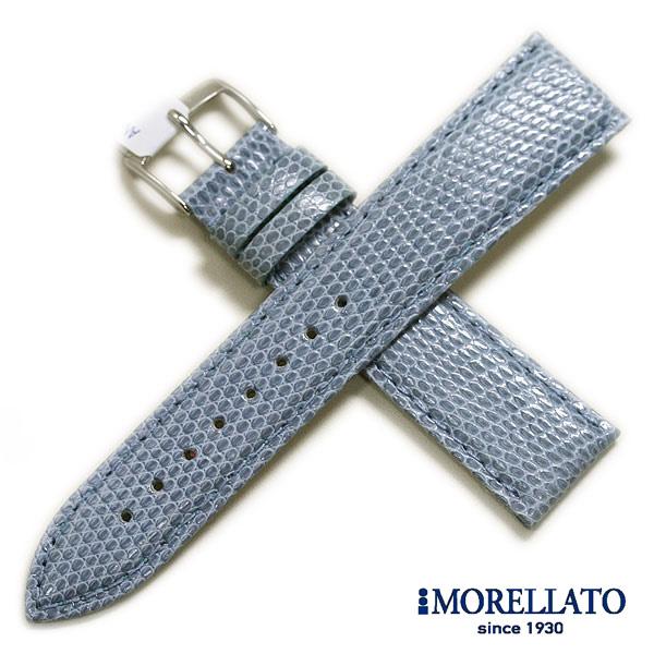 【モレラート】VIOLINO(ビオリノ)リザード ホワイト/ブラック/ブラウン/ブルー/グリーン/レッド/ワイン/ピンク 時計ベルト