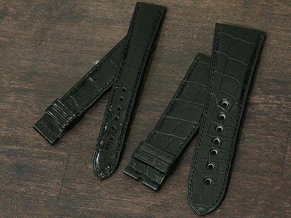 【納期 1ヶ月】クロコダイル オーダー 腕時計 時計用ベルト・バンド