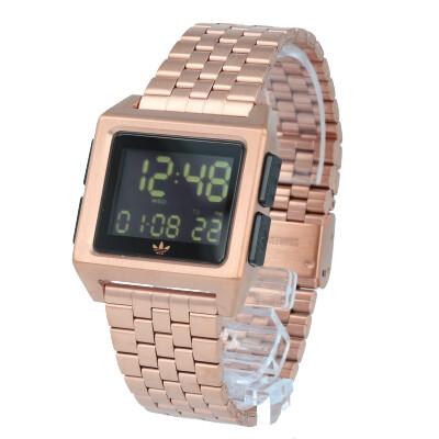 adidas / アディダス Z01-1098 ARCHIVE_M1 アーカイブ 腕時計 デジタル ステンレス ローズゴールド ブラック メンズ レディース ユニセックス 【あす楽対応_東海】