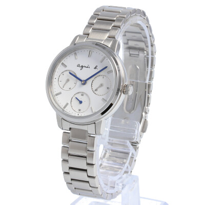 agnes b. / アニエスベー BP6019X1 腕時計 レディース ステンレス シルバー ホワイト 【あす楽対応_東海】
