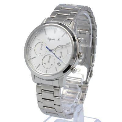 agnes b. / アニエスベー BT3035X1 腕時計 メンズ ステンレス シルバー クロノグラフ 【あす楽対応_東海】