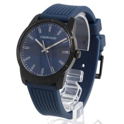 CALVIN KLEIN / カルバンクライン K8R114VN Evidence エビデンス 腕時計 メンズ ラバーベルト ブルー CK 【あす楽対応_東海】