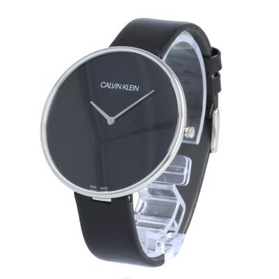 CALVIN KLEIN / カルバンクライン K8Y231C1 Full Moon フルムーン 腕時計 レディース ブラック レザー CK シーケー 【あす楽対応_東海】