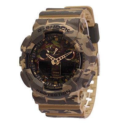 CASIO / カシオ G-SHOCKGA-100CM-5A腕時計 / ラバーベルト / メンズ / カモフラ / Camouflage Series / カモフラージュシリーズ 【あす楽対応_東海】