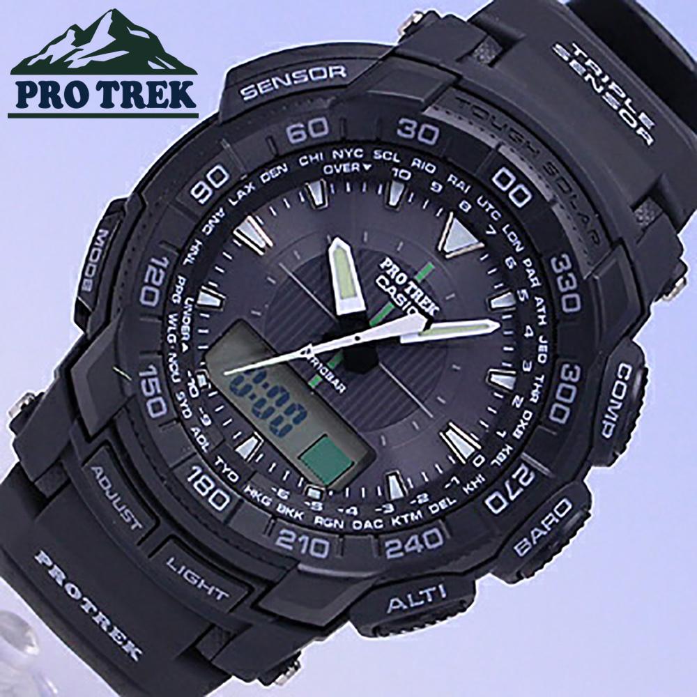 不要CASIO/卡西欧PROTREK PRG-550-1A1/电池交换!