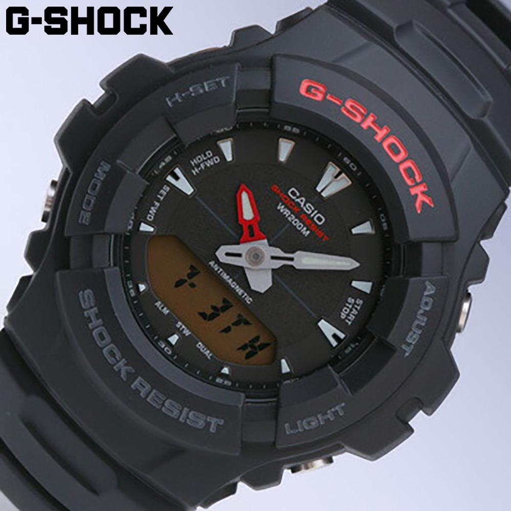 CASIO/卡西欧G-SHOCK G-101-1/模拟&数码