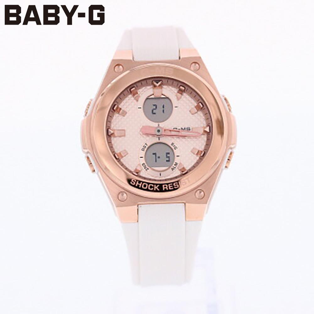 新品 1年保証 ビジネス 就活 プレゼント 時計なら時計倉庫TOKIA あす楽 正規激安 送料無料 CASIO カシオ 防水 アナログ Baby-G G-MS あす楽対応_東海 腕時計 ジーミズ MSG-C100G-7A ベビージー 人気激安 レディース
