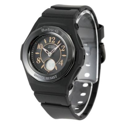 CASIO カシオ / Baby-G ベビージー BGA-1050B-1B 電波ソーラー 腕時計 レディース ブラック タフソーラー【あす楽対応_東海】