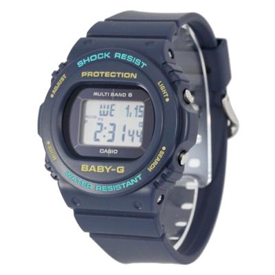 CASIO カシオ / Baby-G ベビージー BGD-5700-2 電波ソーラー 腕時計 レディース タフソーラー ネイビー 【あす楽対応_東海】