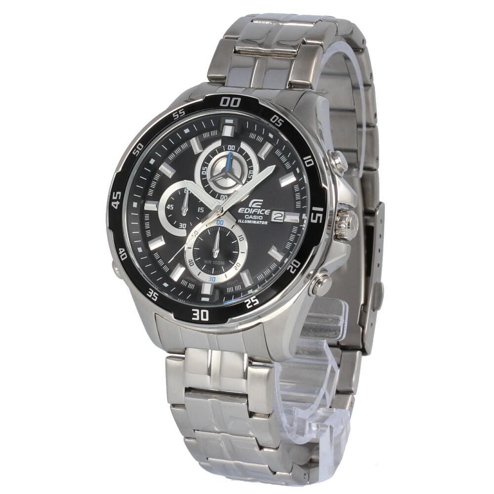 CASIO カシオ / EDIFICE エディフィス EFR-547D-1A クロノグラフ ブラック×シルバー 腕時計 メンズ ステンレス 【あす楽対応_東海】
