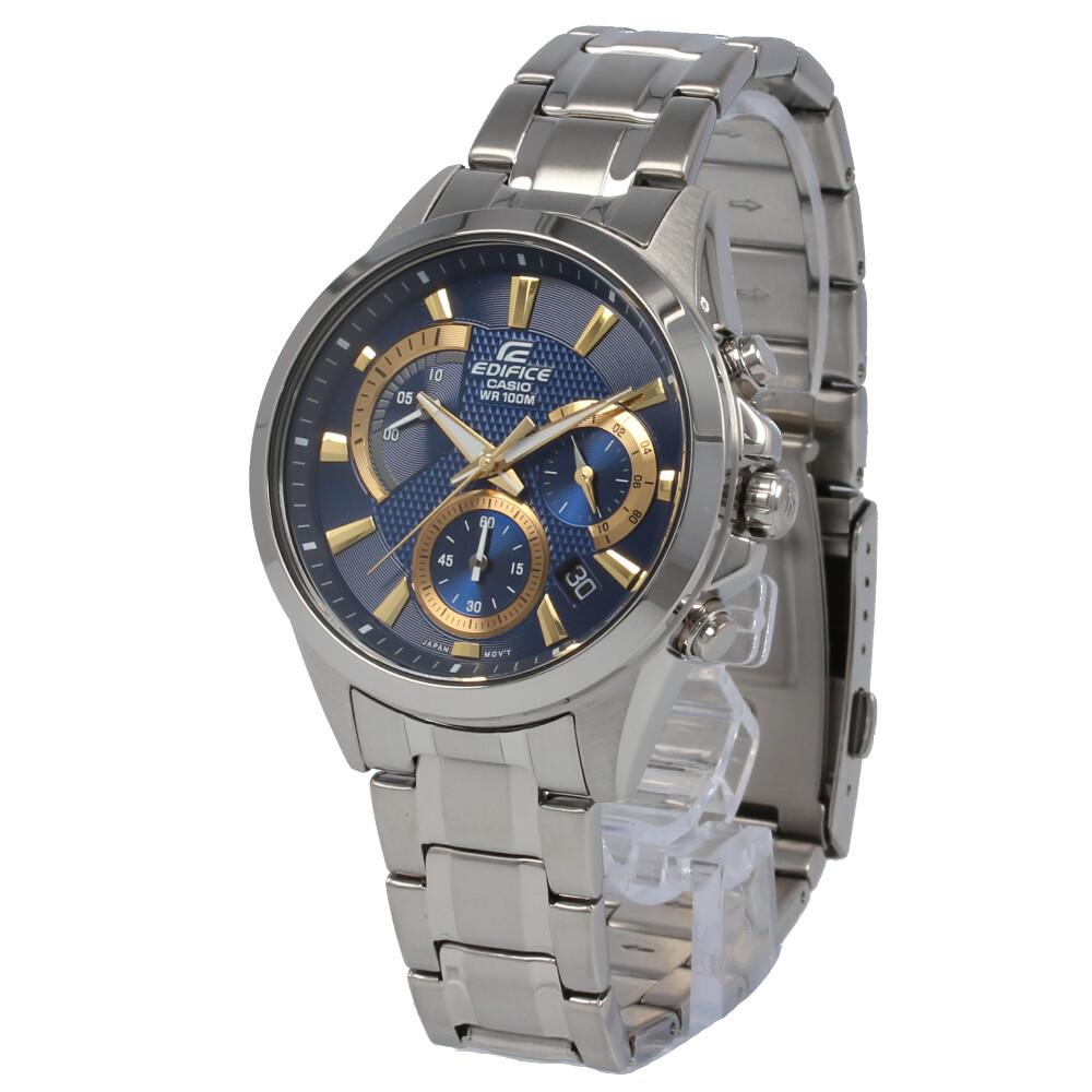 CASIO カシオ / EDIFICE エディフィス EFV-580D-2A クロノグラフ ブルー×シルバー 腕時計 メンズ ステンレス 【あす楽対応_東海】