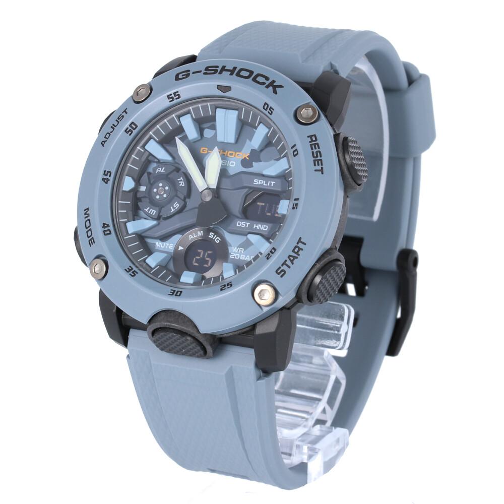 CASIO カシオ / G-SHOCK ジーショック GA-2000SU-2A カーボンコアガード 腕時計 メンズ カモフラ 迷彩 アナデジ ブルー Utility Color 【あす楽対応_東海】