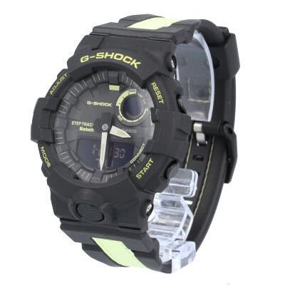 CASIO G-SHOCK / カシオ ジーショック GBA-800LU-1A1 G-SQUAD ジースクワッド 腕時計 メンズ アナデジ ブラック イエロー 【あす楽対応_東海】