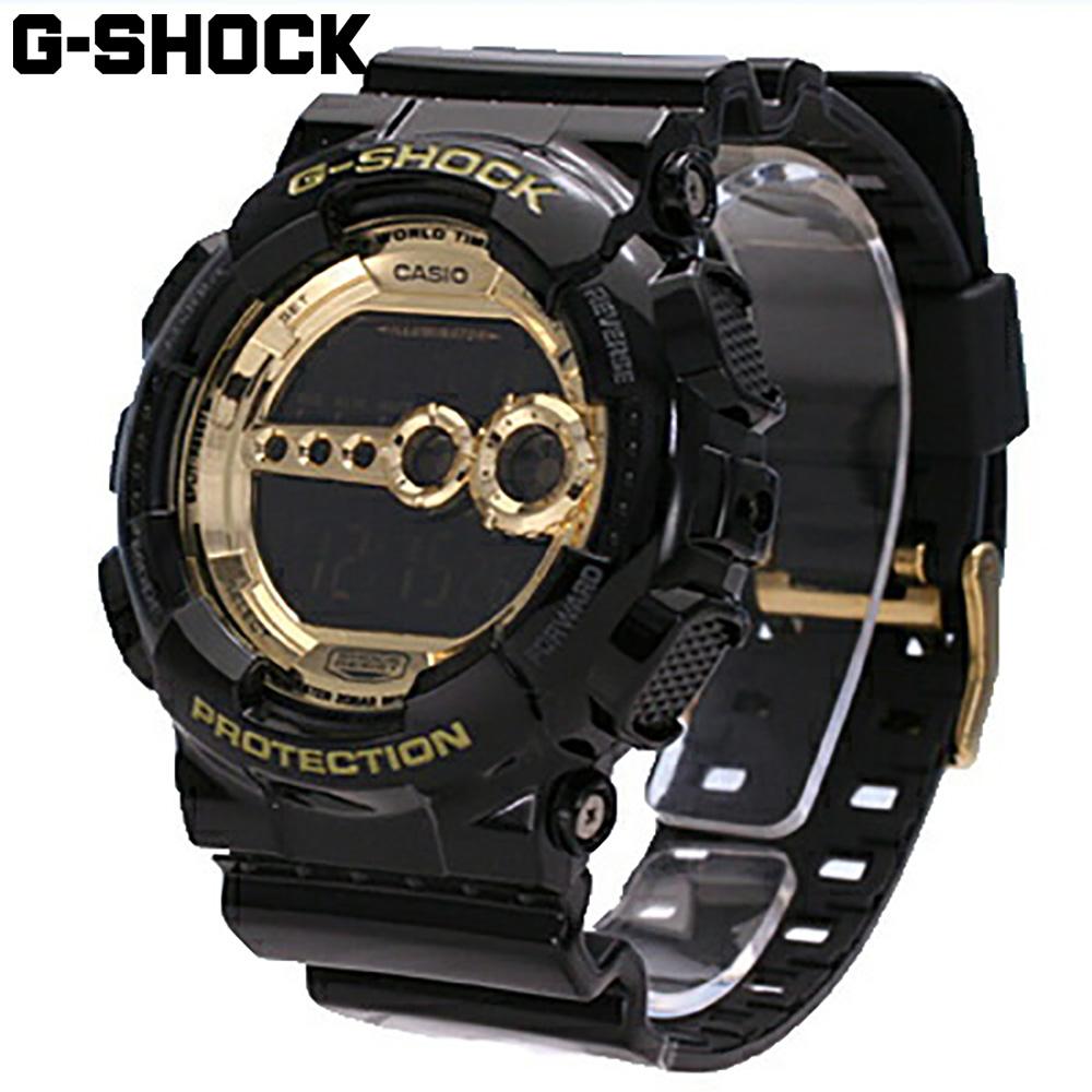 CASIO / カシオ G-SHOCK Black × GoldGD-100GB-1 / Crazy Colors / クレイジーカラーズ メンズ 腕時計 デジタル 【あす楽対応_東海】