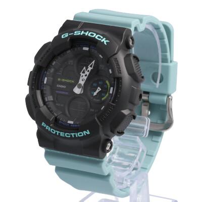 CASIO カシオ / G-SHOCK ジーショック GMA-S140-2A アナデジ 腕時計 Sシリーズ ブラック ライムグリーン メンズ レディース ユニセックス ステレオ 90年代 【あす楽対応_東海】