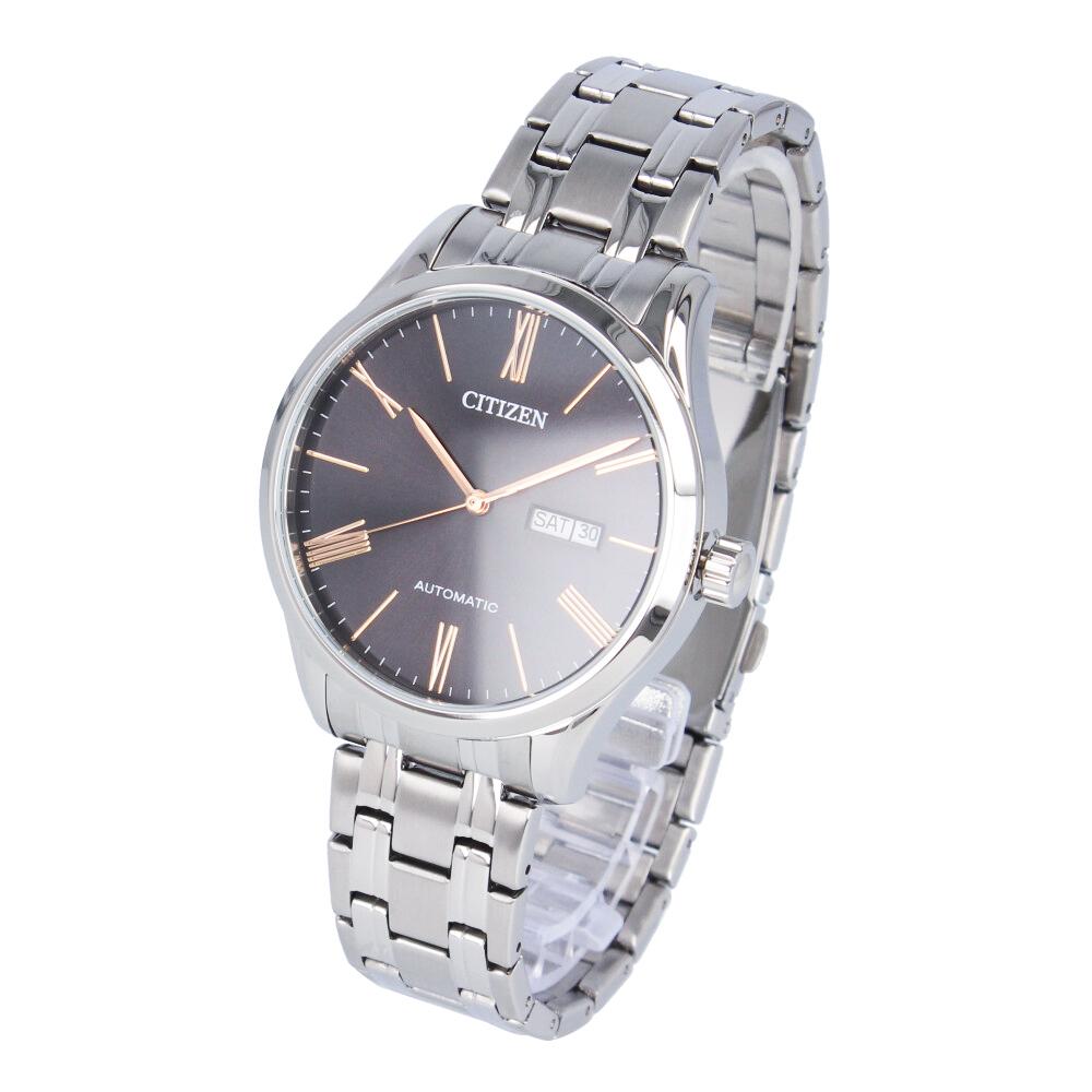 CITIZEN / シチズン NH8360-80J 腕時計 メンズ ステンレス 自動巻き シルバー ブラック 【あす楽対応_東海】
