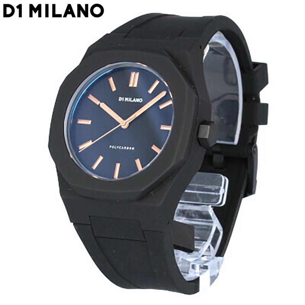 D1 Milano / ディーワンミラノ PCRJ03 腕時計 メンズ ブラック ポリカーボン 【あす楽対応_東海】