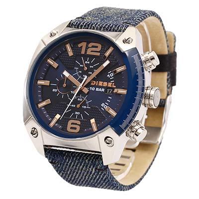 セール Dieselディーゼル 腕時計 アドヴァンス デニム DZ4374