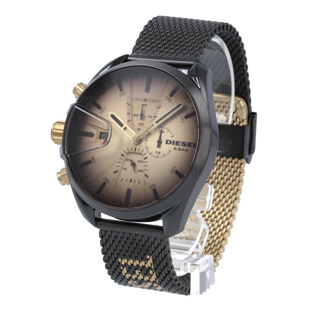 DIESEL / ディーゼル DZ4517 MS9 エムエスナイン 腕時計 メンズ メッシュベルト クロノグラフ 【あす楽対応_東海】
