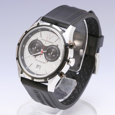 EMPORIO ARMANI/emporioarumani AR0532/香草滋味皮带计时仪人手表