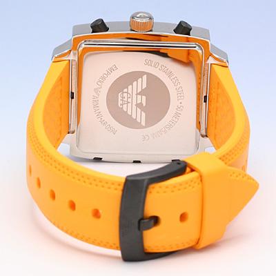 EMPORIO ARMANI/emporioarumani AR0594/香草滋味皮带计时仪人手表