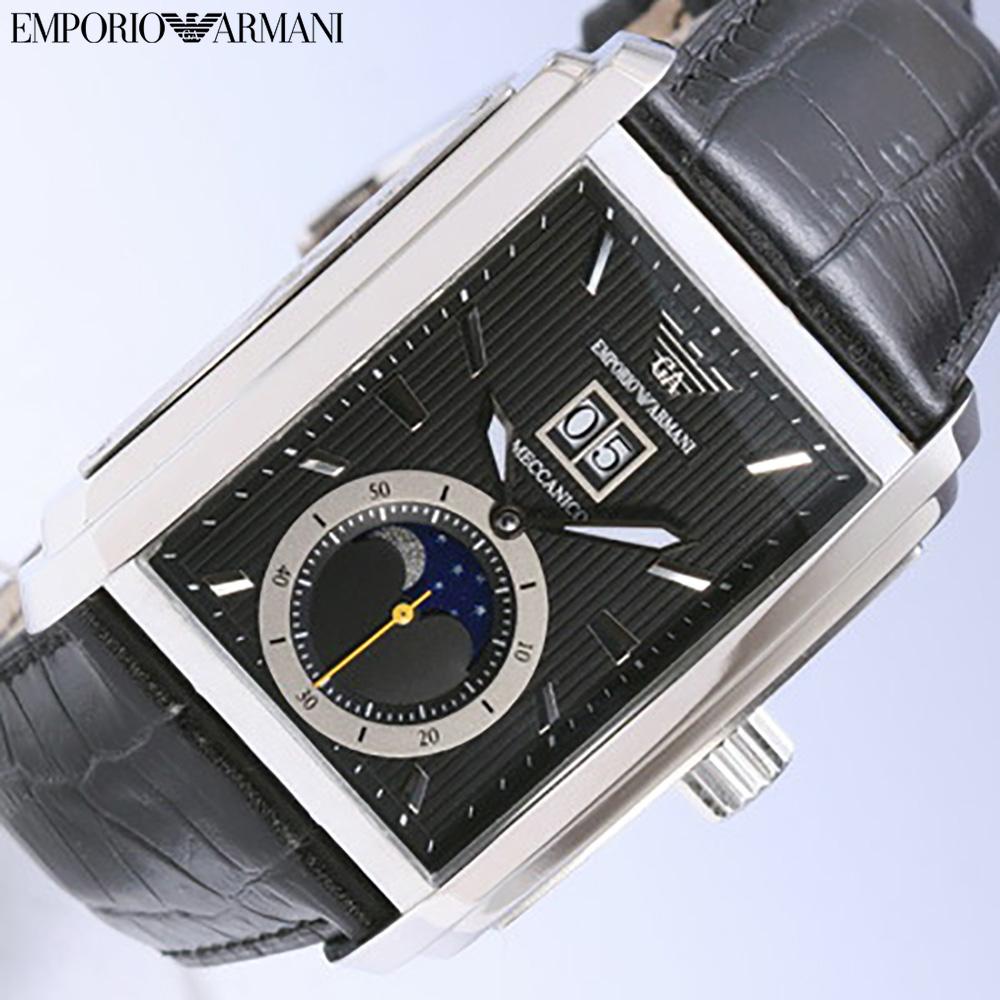 EMPORIO ARMANI/emporioarumani AR4211/月亮相·大的日期搭载自动卷人手表