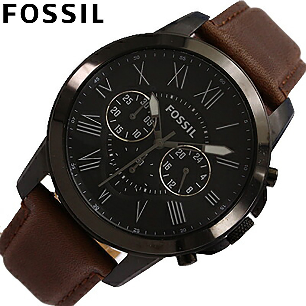 tokia rakuten global market fossil x2f fossil fs4885 fossil fossil fs4885 watches mens leather