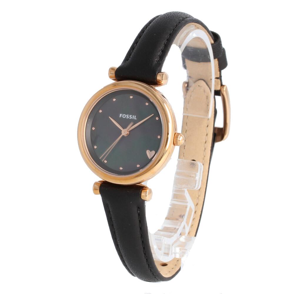 FOSSIL / フォッシル ES4504 Carlie Mini カーリーミニ 腕時計 レディース レザー ローズゴールド マザーオブパール 【あす楽対応_東海】