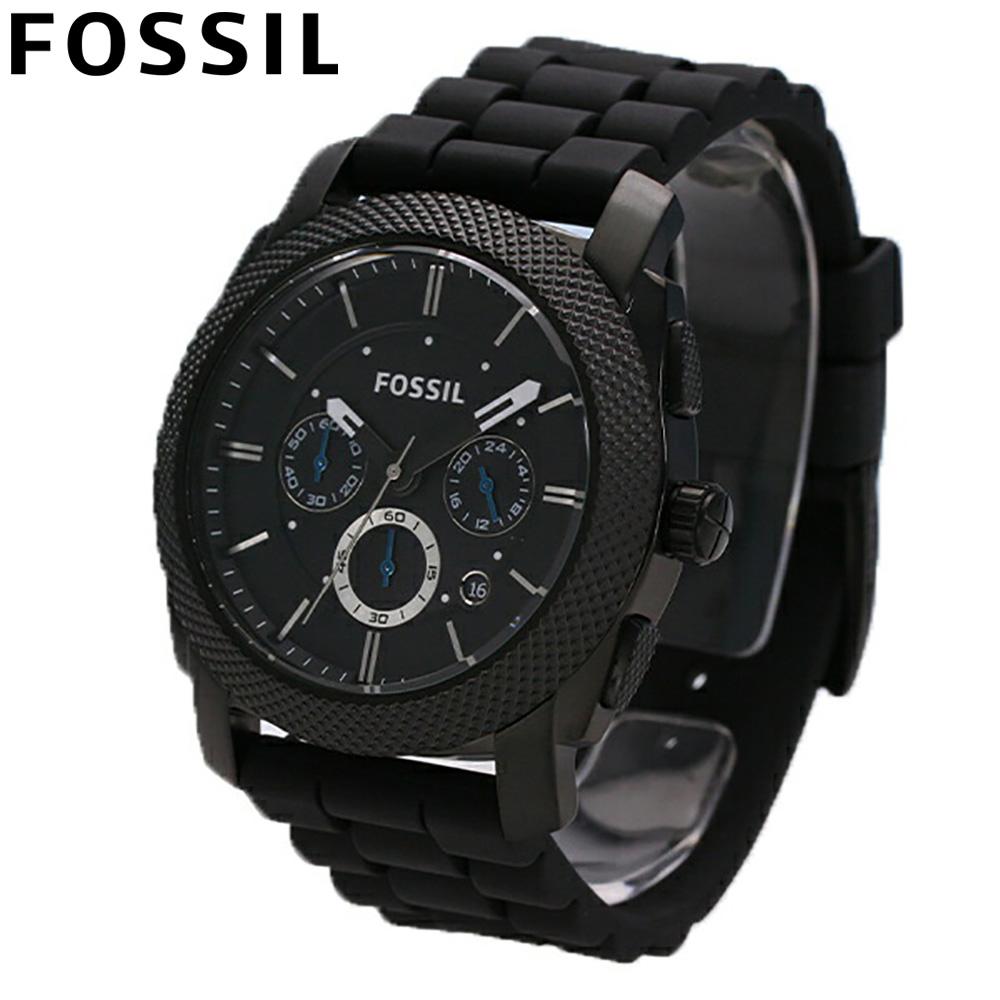 FOSSIL / フォッシル FS4487 MACHINE / マシーン オールブラック マルチファンクション 【あす楽対応_東海】
