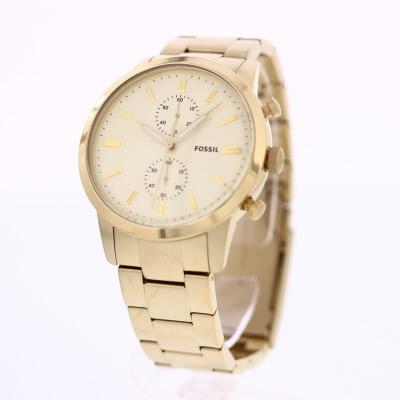 FOSSIL / フォッシル FS5348 TOWNSMAN 腕時計 メンズ ステンレスベルト ゴールド クロノグラフ 【あす楽対応_東海】