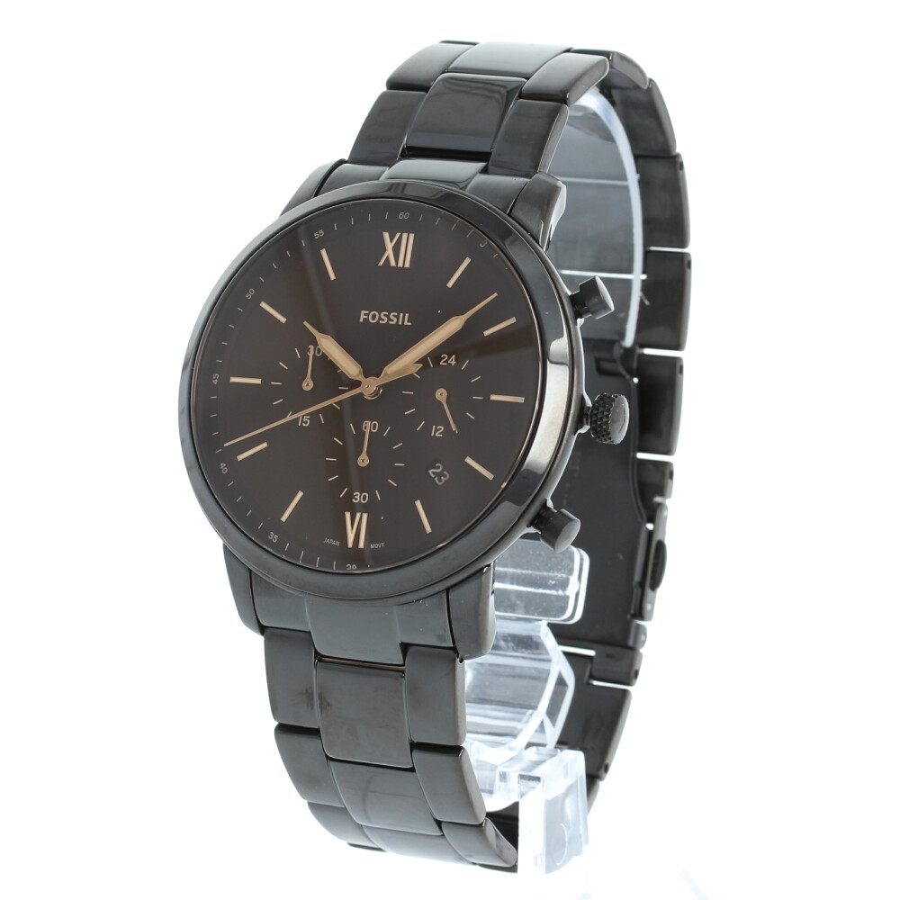 FOSSIL / フォッシル NEUTRA CHRONO ニュートラ クロノ FS5525腕時計 メンズ CHRONOGRAPH クロノグラフ ブラック ステンレス 【あす楽対応_東海】