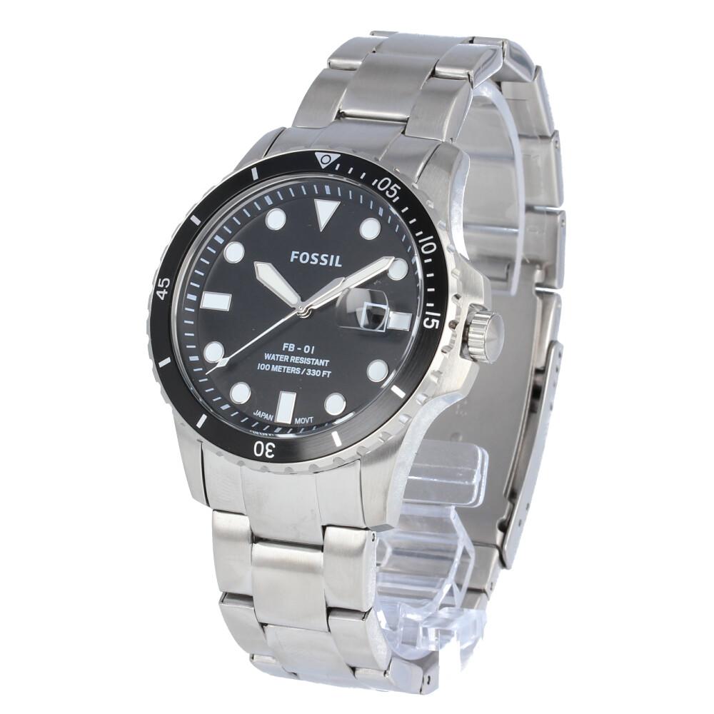 FOSSIL / フォッシル FS5652腕時計 メンズ FB-01 三針デイト シルバー ステンレス 【あす楽対応_東海】