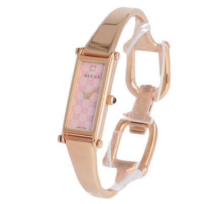 GUCCI / グッチ 1500 シリーズ YA015559 I腕時計 レディース 24mm ブレスウォッチ ピンクゴールド ステンレスベルト 【あす楽対応_東海】