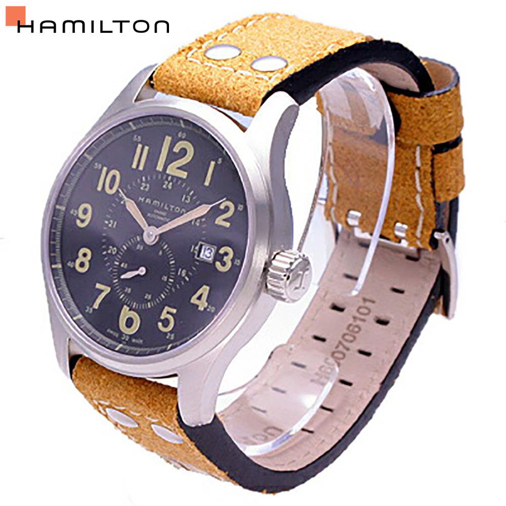 HAMILTON / ハミルトン H70655733 カーキ オフィサー 腕時計 メンズ 自動巻き 【あす楽対応_東海】