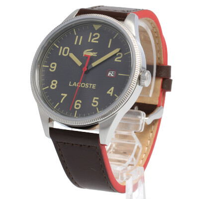 LACOSTE / ラコステ 2011020腕時計 メンズ レザーベルト デイト 【あす楽対応_東海】